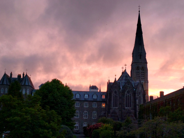 sunset-maynooth-uniersity-ireland-taken-by-ff