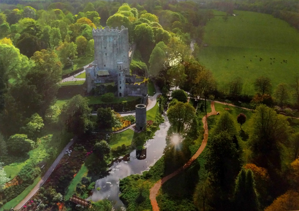 view-from-the-air-blarney-castle-ireland-taken-8-13-16-by-ff-postcard